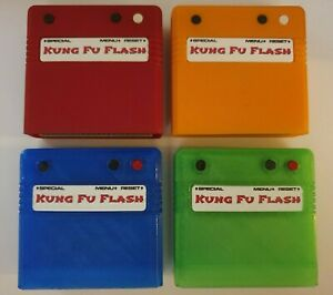 Kung Fu Flash C64 commodore Flash cart cartridge.