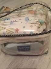 BRAND NEW IN PACK KUSHIES WASHABLE NAPPIES x5 10-22lb
