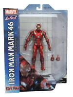 Captain America Civil War Iron Man Mark 46 Marvel Select Action Figure UK Seller