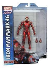 CAPITAN AMERICA GUERRA CIVILE IRON MAN MARK 46 Marvel selezionare Action Figure UK Venditore