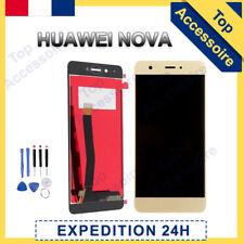 VITRE TACTILE + ECRAN LCD ORIGINAL PRET-A-MONTER POUR HUAWEI NOVA BLANC + FILM