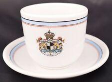 Fritz Bensinger Mannheim Nichts Ohne Gott German Hotel Coffee / Tea Cup Saucer