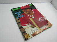 1984  SPORTS ILLUSTRATED PETE ROSE ROSE IS A RED!    AUGUST 27, 1984