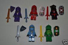 Lego Knight's Kingdom II minifigure lot Rascus Santis Jayko Danju Vladek OUD
