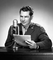 OLD CBS RADIO PHOTO Webley Edwards Cbs News Radio War Correspondent 2
