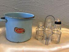 788 Children's 1950 Amsco Baby Bottle Sterilizer and Rack
