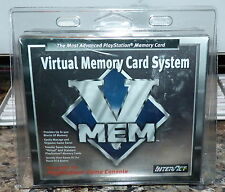 InterAct VMEM Virtual Memory Card System for PLAYSTATION 1 PS1 New in Box!