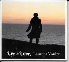 CD ALBUM 12 TITRES DIGIPACK--LAURENT VOULZY--LYS & LOVE--2011