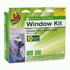 2 Pack! Duck 286216 Window Kit Shrink Film - Crystal Clear