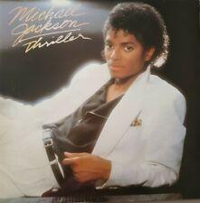 """Michael Jackson Thriller 12"""" Vinyl LP Misprint Lyric Inner Epic EPC 85930 VG/VG"""