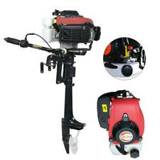 Heavy Duty 4 Stroke 4HP Outboard Motor Boat Engine w/Air Cooling System USA New