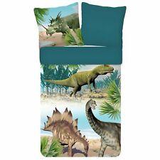 Trendy Bedding Bettwäsche Dino Bunt Dinosaurier T-Rex Stegosaurus 135x200 cm Ren