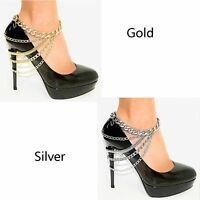 High Heel Shoe Foot Ankle Jewelry Multi-layer Foot Chain Anklets Beach Foot