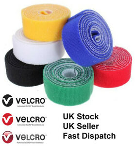 1 Metre VELCRO® Brand One-Wrap® Cable Ties Garage Home Strapping Double Sided