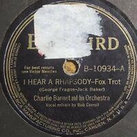 Charlie Barnet: I Hear A Rhapsody / The Moon Is Cryin' For Me: 1940 (Jazz)