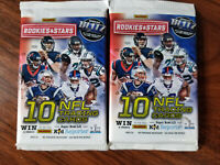 2017 panini rookies and stars football packs (2) 10 card packs - See details!
