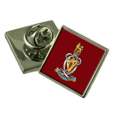 Army The Queen'S Royal Hussars Silver 925 Badge