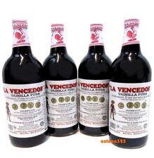4  Bottles La Vencedora Mexican Pure Vanilla Extract 32 oz ea Bottle