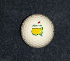 2018 Masters Tournament Augusta National Tiger Woods PGA Logo Golf Balls