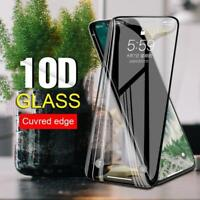 3Pcs For iPhone 11 Pro Max 10D Full Cover Tempered Glass Screen Protector lot SO