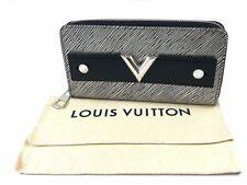 Louis Vuitton Zippy Silver Wallet Portafoglio Epi Nero Argento Nuovo Perfetto!!!