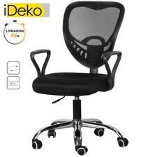 Fauteuil de bureau chaise de bureau siège sport confort à 5 pieds rotatif