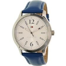 Tommy Hilfiger watch 1781557 Women blue Leather band New In Box