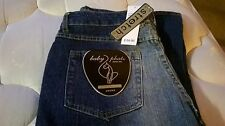 New with tags Women 's BABY PHAT Blue Antique Tint Straight Jeans size 9