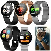 Touchscreen Bluetooth Smartwatch Pulsuhr Armbanduhr für iPhone Huawei Samsung LG