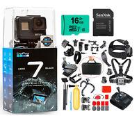 NEW GoPro HERO7 Black 4K HD 12.2MP Waterproof Touch-Screen Action Camera