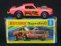 Matchbox Superfast MB8-B2: Wild Cat Dragster (PINK), G Box
