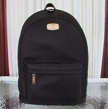 Michael Kors Large Black Nylon Backpack Work Travel School Bag Jet Set Item NWT