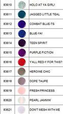 China Glaze Rebel Fall 2016 Collection 12 Piece Set Nail Polish Lacquer 0.5 oz