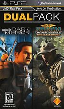 SONY PSP SYPHON FILTER DARK MIRROR AND SOCOM US NAVY SEALS NEW DUAL PACK