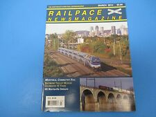 Railpace News Magazine March 2014 Montreal Commuter Rail NS Morrisville  M1577