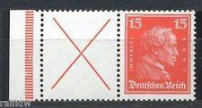 Dt Reich 15 Pfg. Kant 1927** Zusammendruck X+15 (S3892)