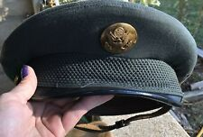 "Vintage Army ? Uniform Hat Size 6 3/4"" 100% Of Proceeds To Vets"