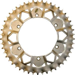 Sunstar 8-354748E Works Z Rear Sprocket 48T Matte Silver