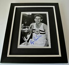 Roger Bannister SIGNED 10x8 FRAMED Photo Autograph Display Sub 4 Minute Mile COA