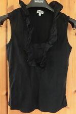 Street One T-shirt Shirt Gr. 38 S  schwarz Brustweite: ca. 40 cm
