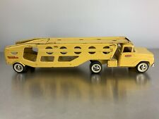 """Vintage 1963-64 Tonka Motor Transport Car Carrier Yellow Old Cab Style 29"""""""