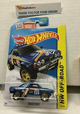 Subaru Brat #123 * BLUE * USA CARD * 2015 Hot Wheels * G7
