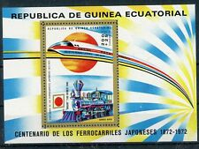 äquatorial Guinea MiNr. Block 32 mit Falz/ Hinge Mark Eisenbahn (Eis643
