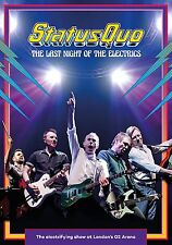 STATUS QUO LAST NIGHT OF THE ELECTRICS LIVE AT THE 02 DVD (PRE-ORDER 14/7/17)