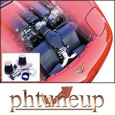 BLUE  DUAL/TWIN AIR INTAKE 1997-2000 CHEVY CORVETTE C5 5.7 5.7L ENGINE