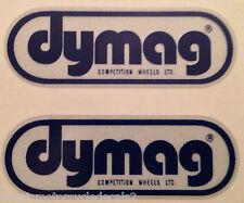 Dymag magnésium roue réfléchissant Roue Autocollants Stickers x 2