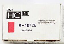 Riso S-4672E ink magenta HC ink  Risograph für HC 5000 5500