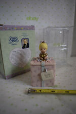 1999 NEW Precious Moments trinket box Enesco YOU'RE Number One two sided lid