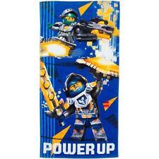 Toallas de baño y albornoces Lego color principal azul