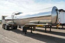1981 Progress Industries Stainless Steel Tanker Trailer #2821